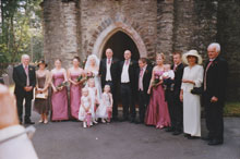 wedding at Hafod Church